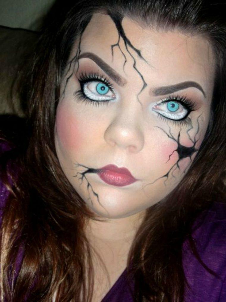 maquillaje para halloween ramas