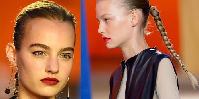 maquillaje moderno tendencia 2016 opciones pelo ideas