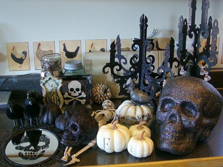 mesas carabelas craneos huesos figuras