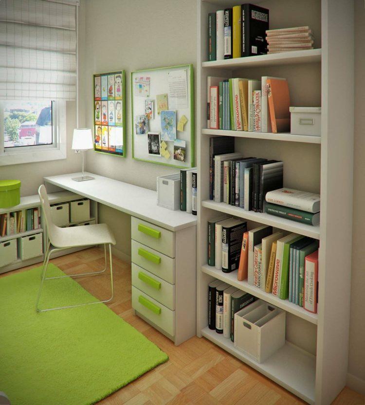 mesas de escritorio dormitorio adolescente diseno pequenas ideas