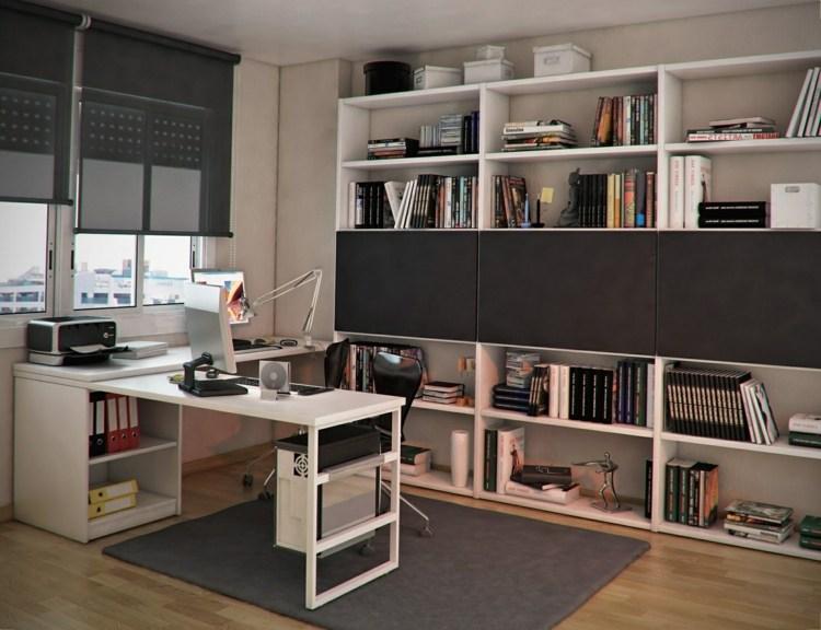 mesas escritorio dormitorio adolescente muebles pared ideas