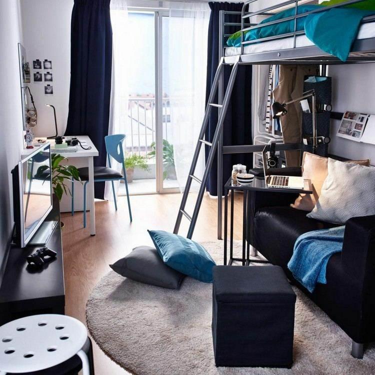 mesas escritorio dormitorio adolescente sofa negro ideas