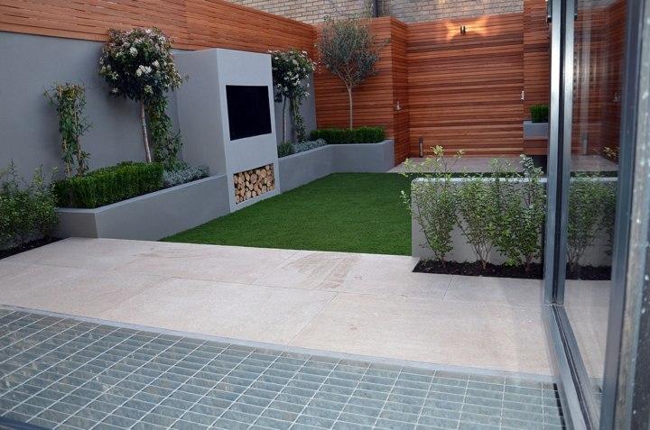 minimalista patio especiale madera