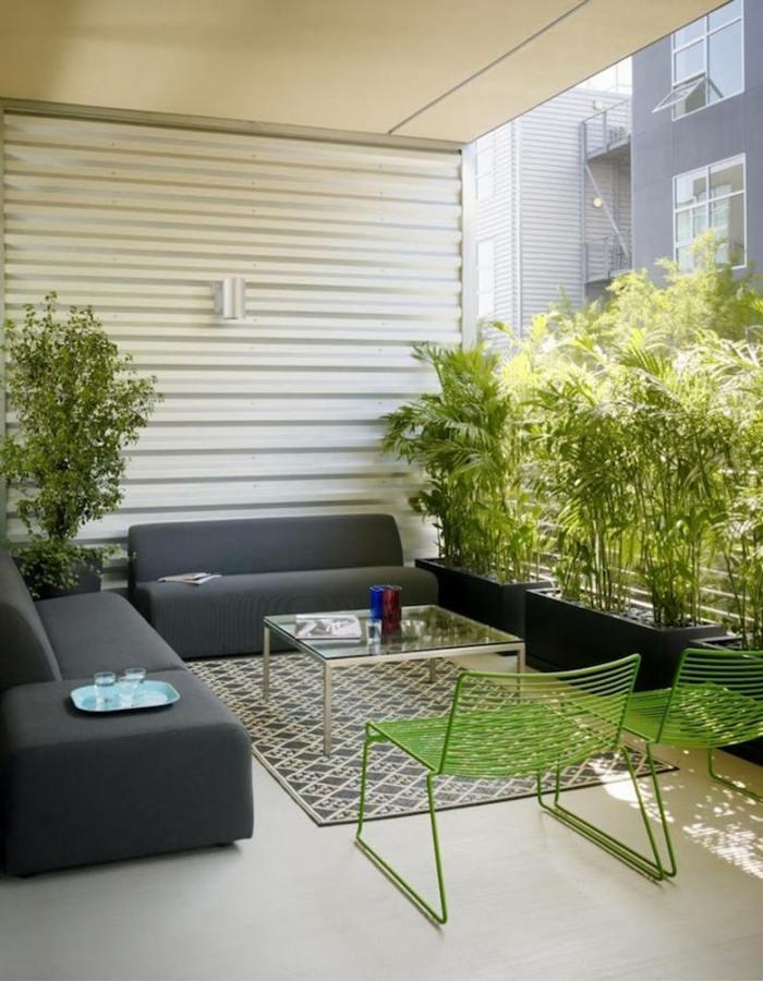 mobiliario iluminacion plantas intimidad fuentes