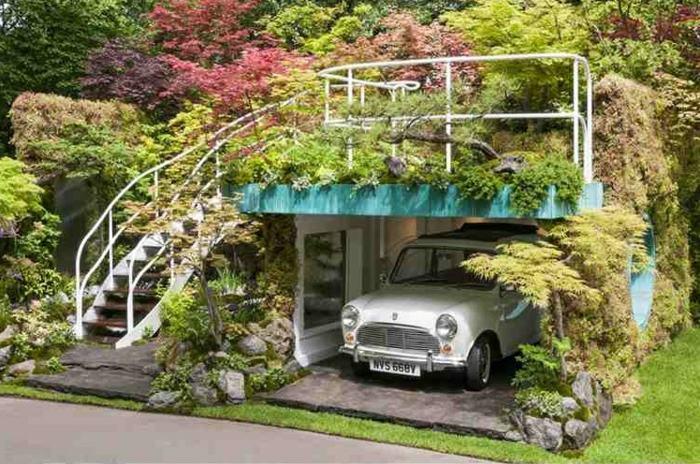 moderno tejado techos autos unico