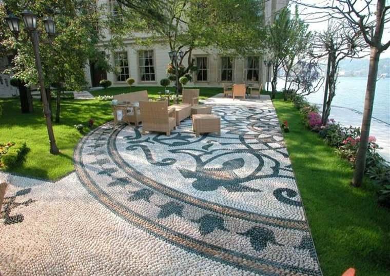 mosaico decorativo pati jardin