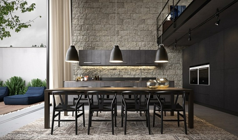 Muebles comedor con dise o elegante y lujoso - Sillas comedor diseno ...