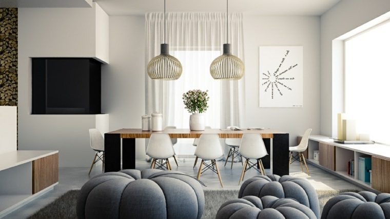 muebles-comedor-diseno-elegante-lujoso-simple-moderno