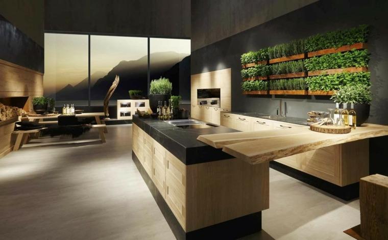 muebles de madera maciza cocina roble