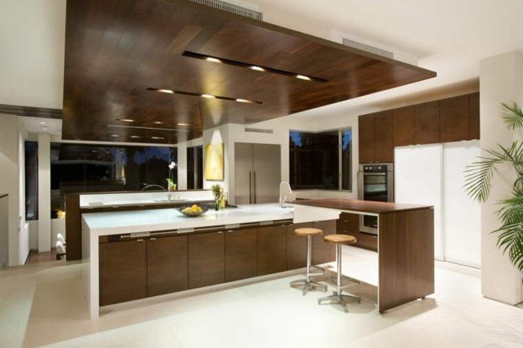 muebles de madera maciza cocina