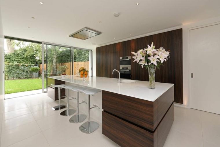muebles de madera maciza diseño blanco