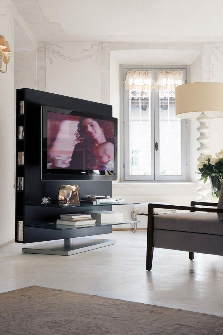 Muebles Para Tv Con Dise O Moderno A La Ltima  # Mueble Soporte Tv Diseno