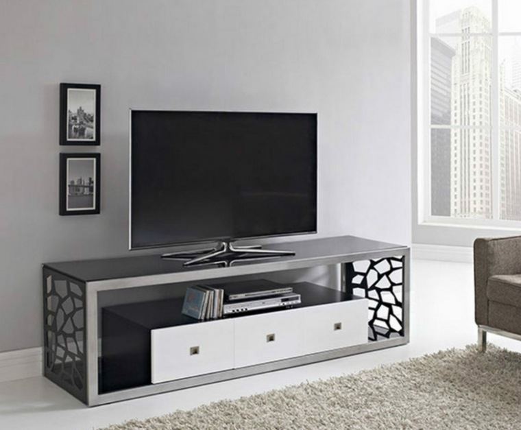 Muebles para tv con dise o moderno a la ltima for Muebles tv esquinero modernos
