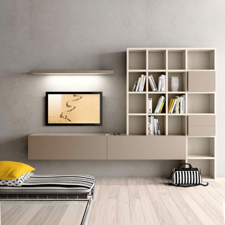 Muebles para tv con dise o moderno a la ltima for Muebles de diseno