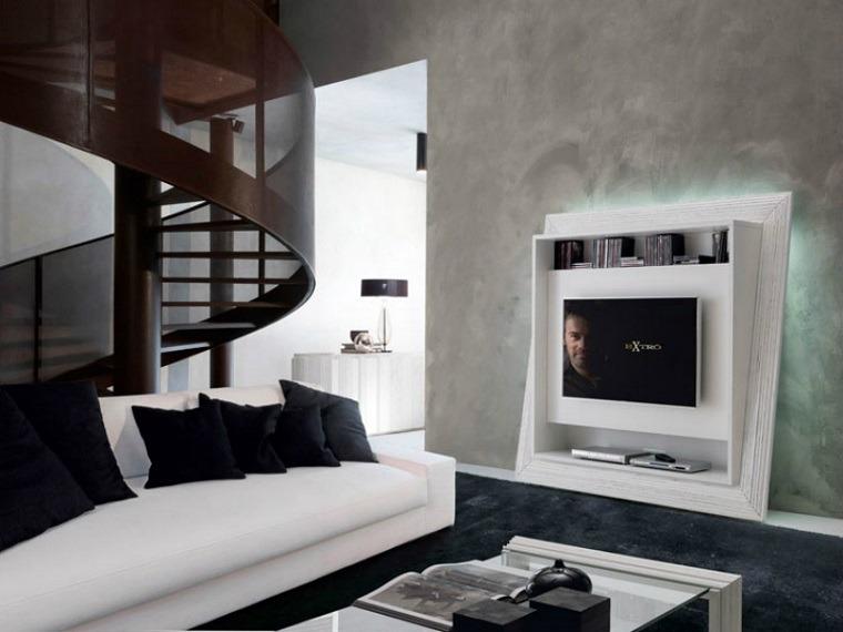 Muebles de diseo salon saln diseo despus with muebles de for Muebles de salon tv