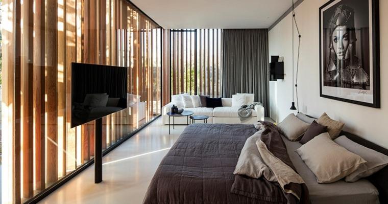 Muebles para tv con dise o moderno a la ltima Disenos modernos con elementos de madera