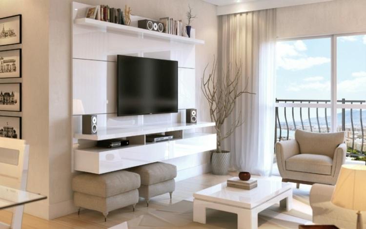 muebles para salon diseños city manhattan comfort soluciones