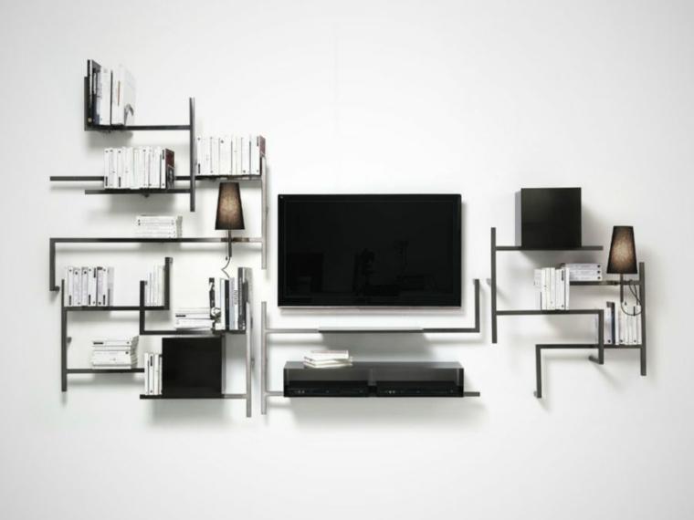 Muebles para tv con dise o moderno a la ltima for Muebles pequenos para tv
