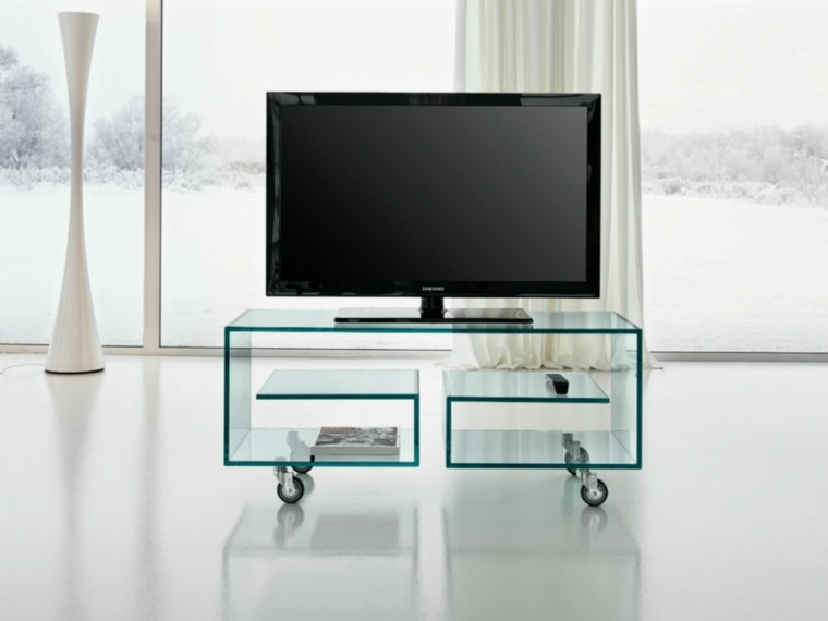 muebles tv mesita crital diseno tonelli design ideas