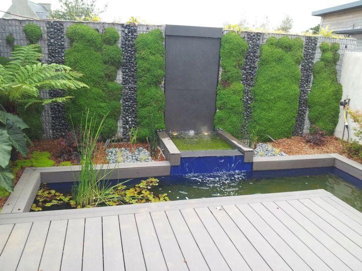 gaviones decorativos para el jard n y jardiner a Muros de gaviones para decorar en jard n Muros para jardin