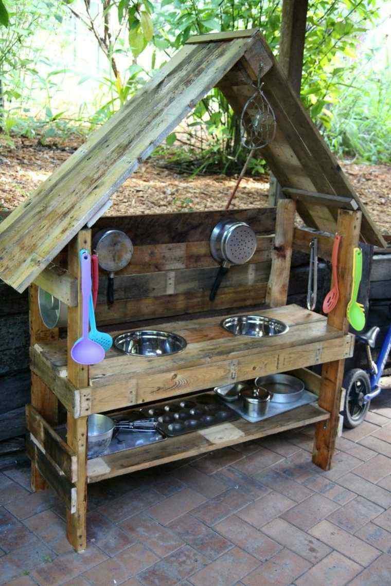 opciones manualidades cocinas jardines ninos ideas