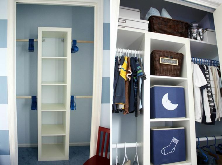 Armarios baratos y pr cticos para nuestro hogar - Organizar armarios empotrados ...