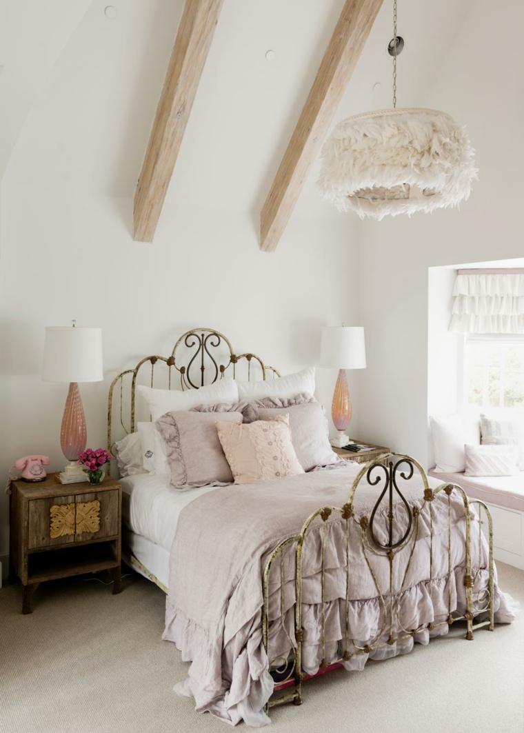 original diseno cama romántica