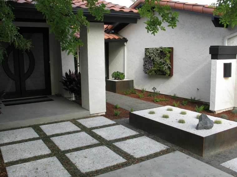 original diseño patio zen