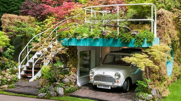 original garaje plantas coche