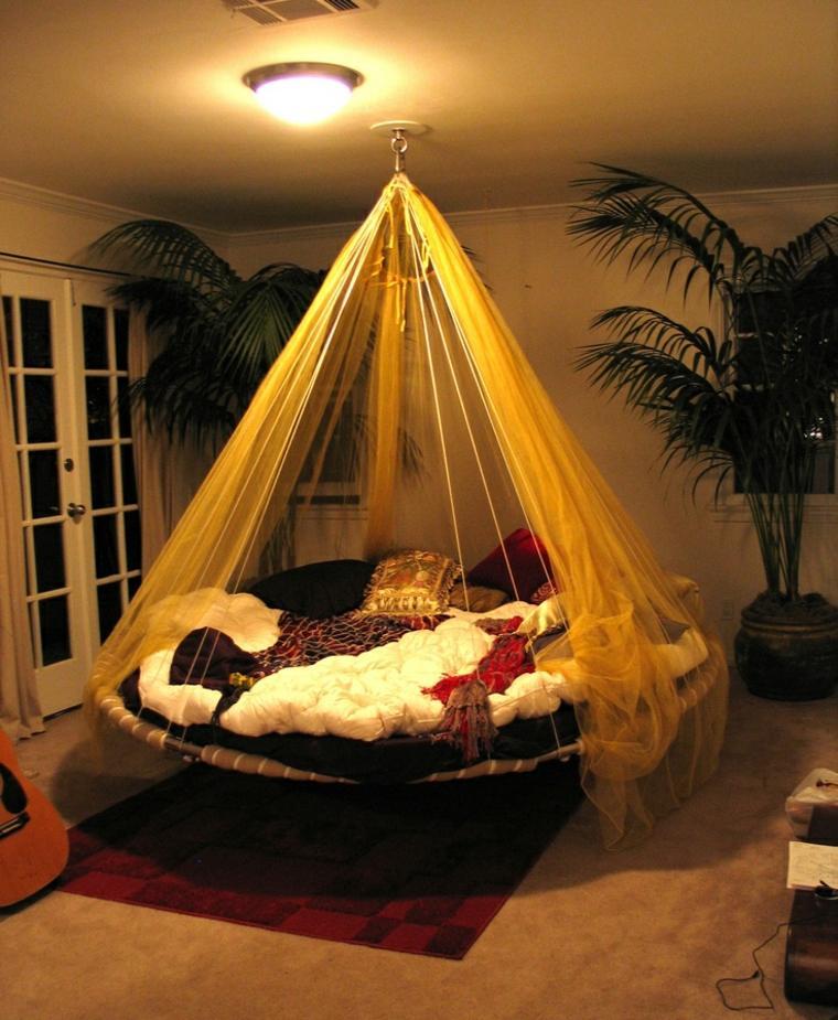 original diseño cama colgante redonda