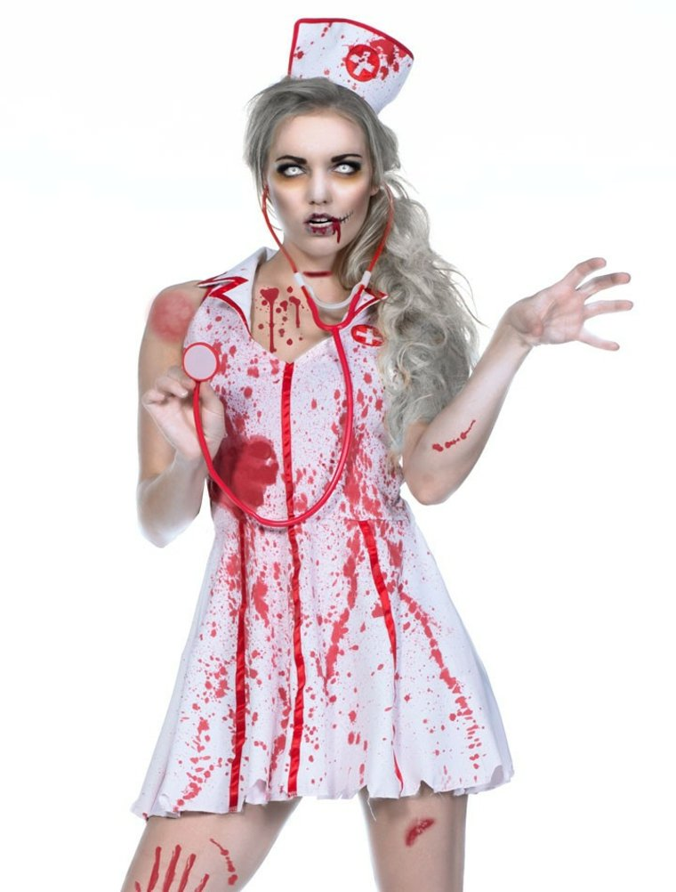 original disfraz enfermera asesina