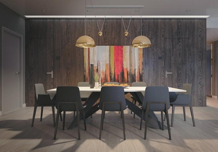 Comedores de dise o moderno funcionalidad y estilo for Sillas comedor amarillas