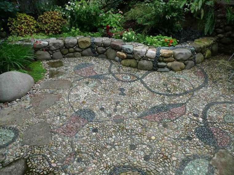 original decoración de suelos jardines