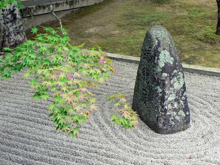 original decoración jardin zen
