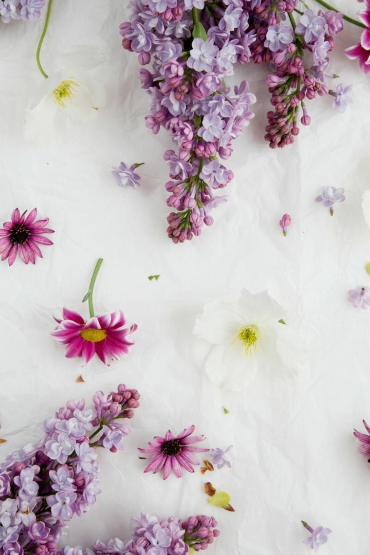 original decoración flores colores