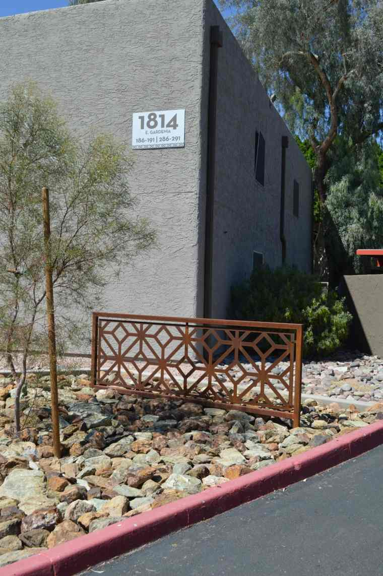 original diseño valla jardin