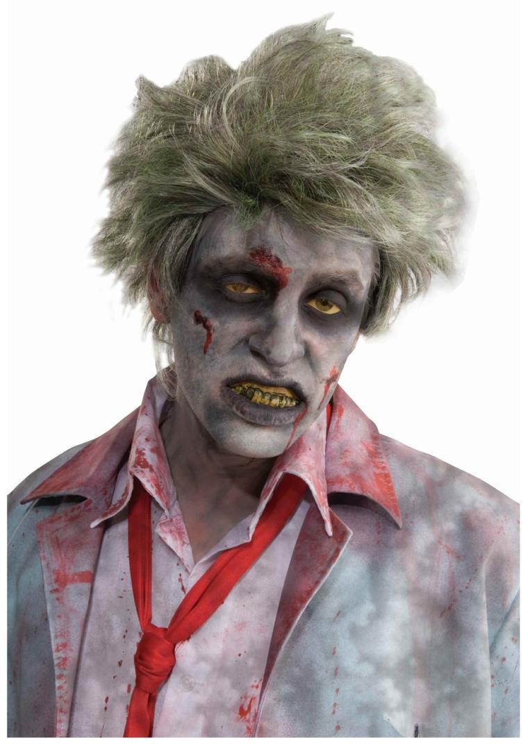 original diseño disfraz zombie feo