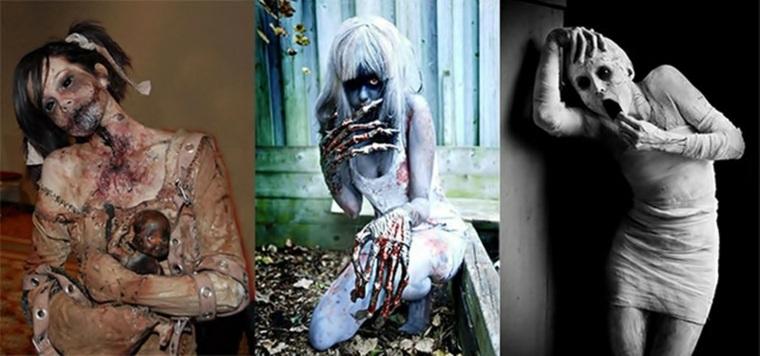 originales ideas disfraces Halloween miedo
