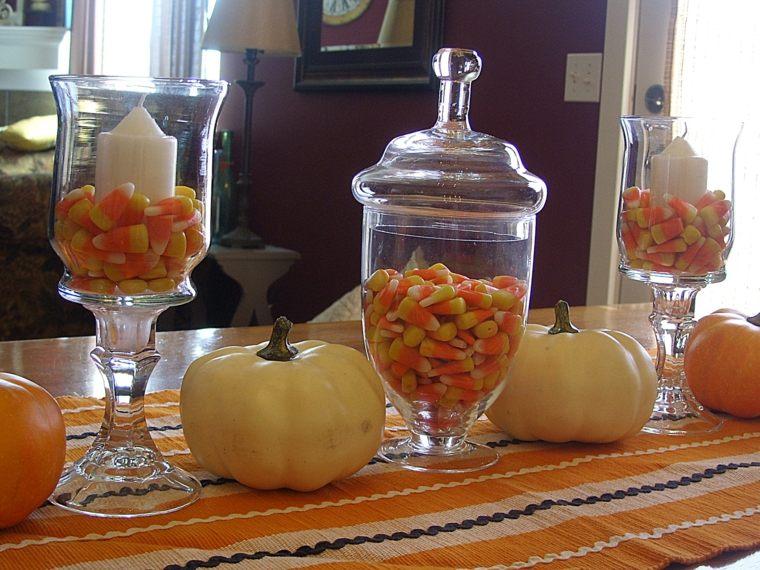 originales calabazas decoración otoño