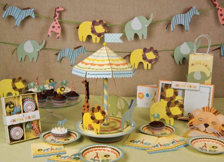 originales adornos para una fiesta baby shower