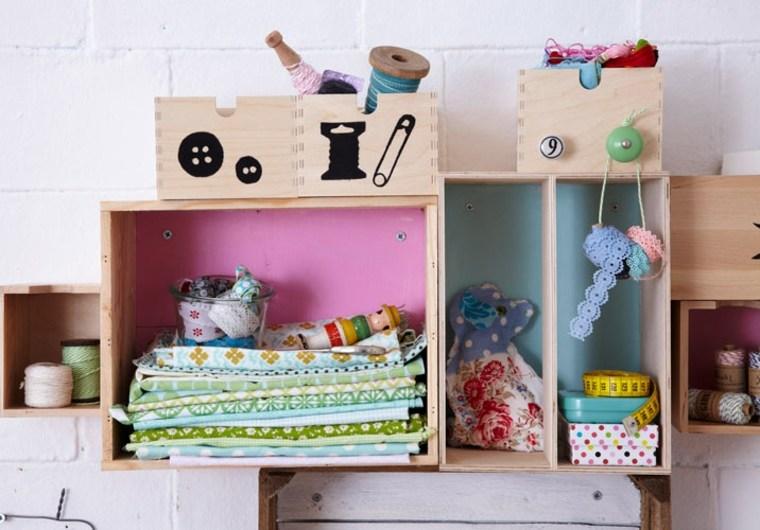 originales estantes habitación infantil