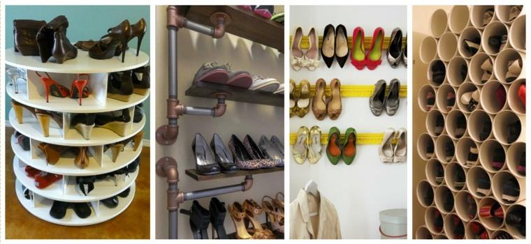 originales estantes colgar zapatos deco