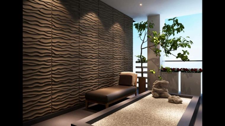 originales paredes interiores modernas