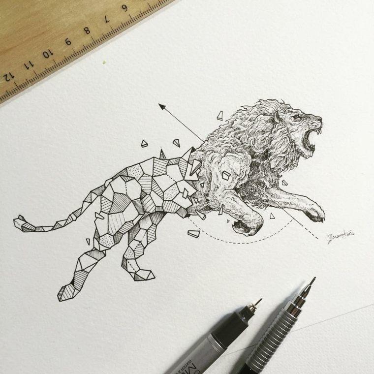 original leon formas geométricas