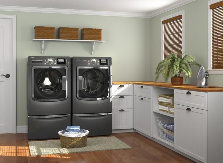 original diseño cuarto lavadora