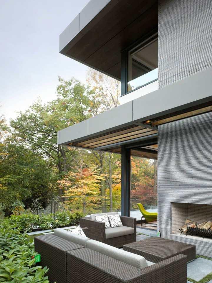 paisajismo chimeneas toronto ideas verdes