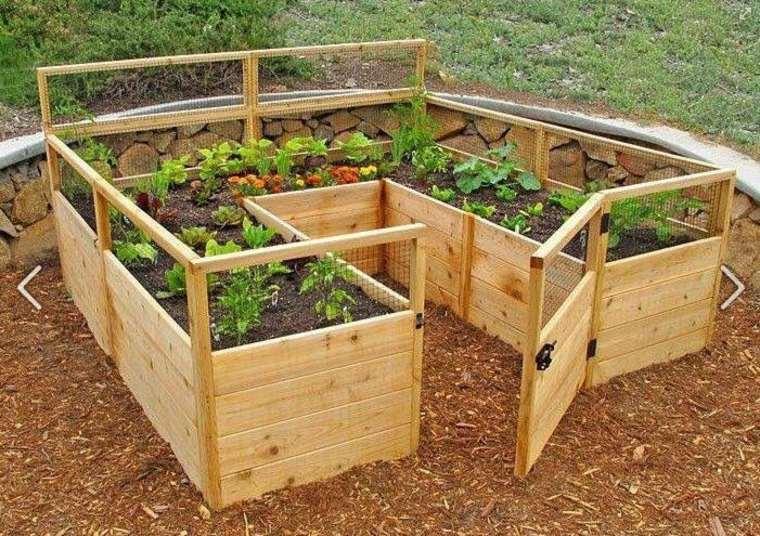 Palets reciclados y utilizados en el jard n for Galpon de madera para jardin