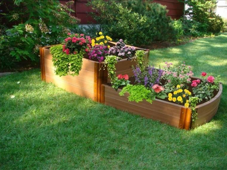 palets reciclados utilizados jardín