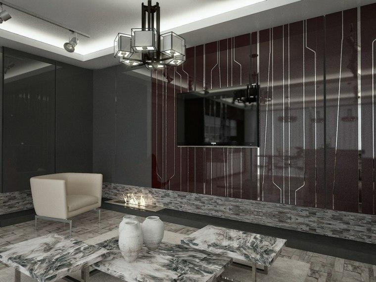 paredes colores materiales organicos metalicos