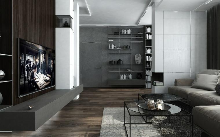 paredes madera estilos conceptos metales